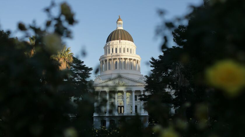 The California Legislature convened Monday for its two-year session, with both houses dominated by Democrats in numbers far beyond most modern records.
