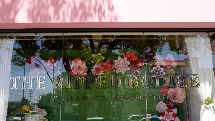 The Ripped Bodice storefront in Culver City.