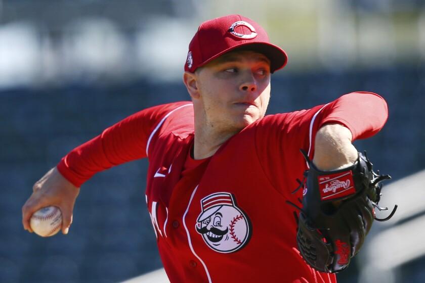 Cincinnati Reds starting pitcher Sonny Gray
