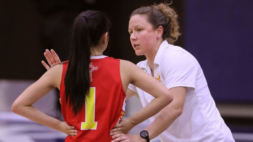 Cathedral Catholic girls basketball coach Jackie Turpin says making progress outweighs winning in the summer.