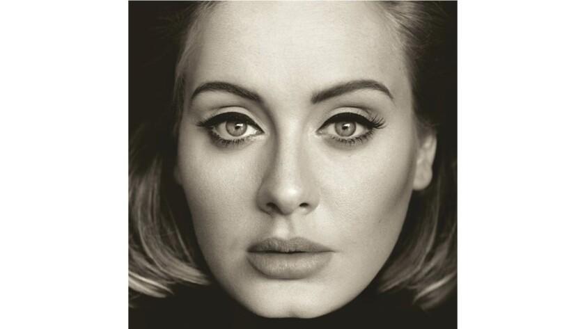 """Adele's """"Hello"""" album cover"""