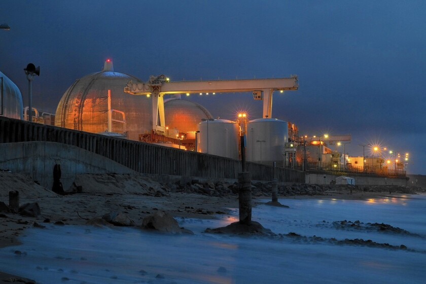 Defective steam generators forced the closing of the 2,200-megawatt San Onofre nuclear power plant near San Clemente.