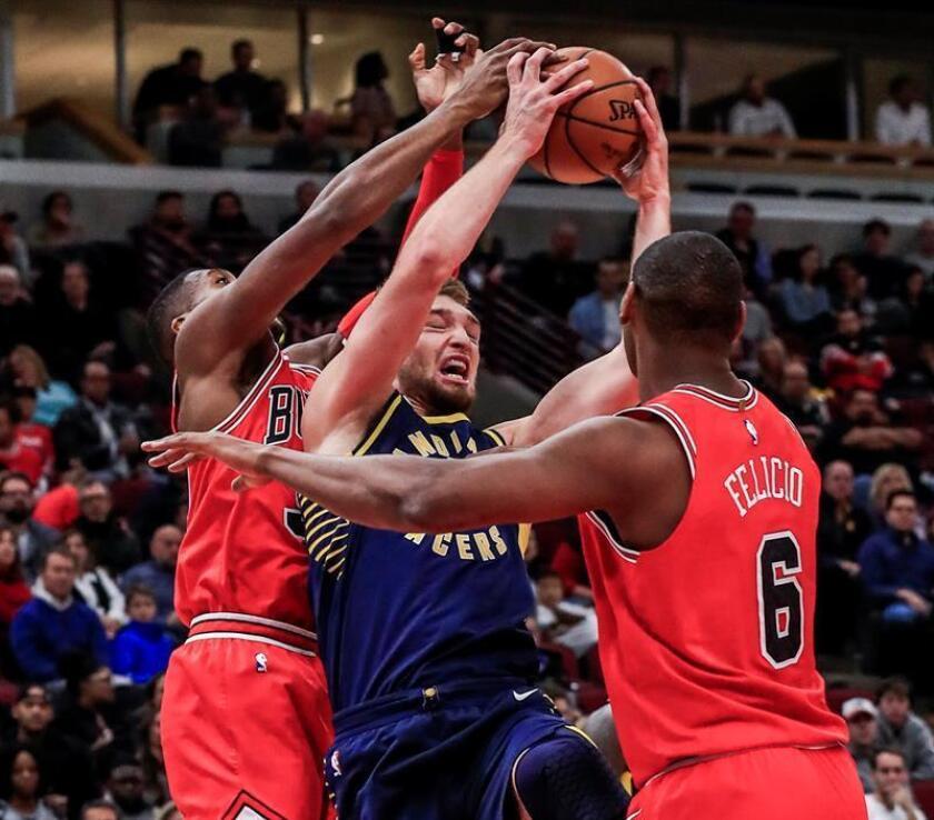 87-105. Oladipo y los Pacers detienen su mala racha al vencer a los Bulls