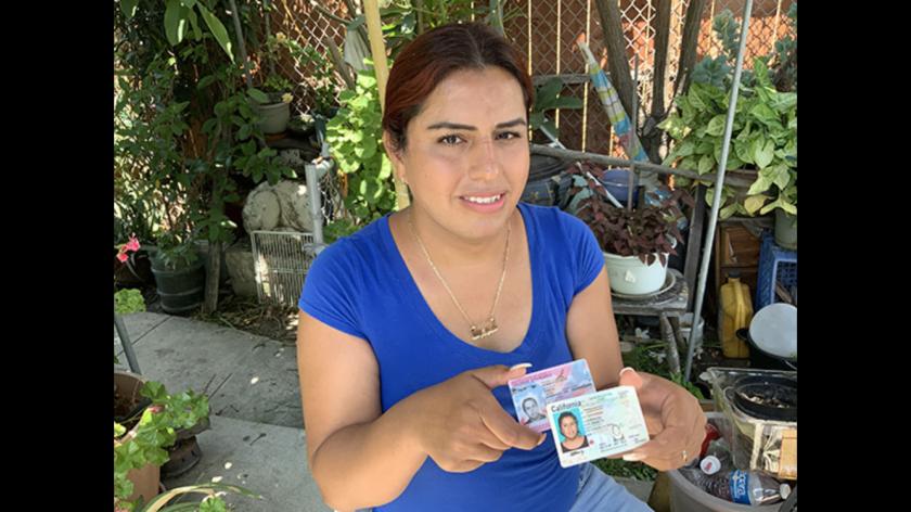Elizabeth Espinoza finalmente recibe permiso de permanencia en Estados Unidos.