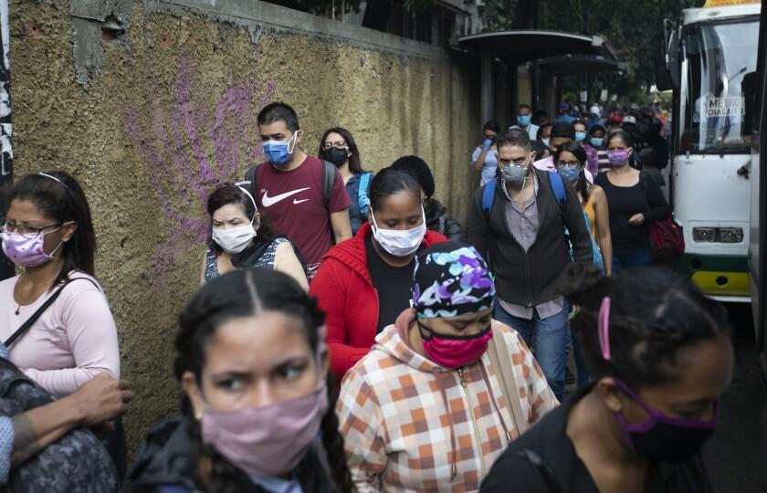 APTOPIX Virus Outbreak Venezuela