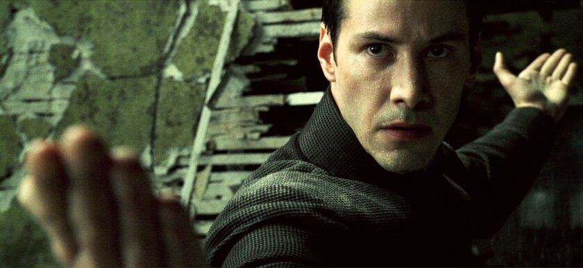 Neo might be needed to do battle in the Colley Matrix.