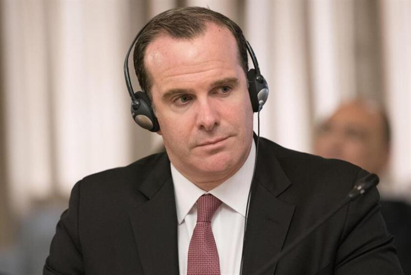 Brett McGurk, the special US envoy to the anti-Islamic State (IS) coalition, presented his resignation Saturday in protest against the White House decision to withdraw US forces from Syria. EFE-EPA/Giorgio Onorati/File