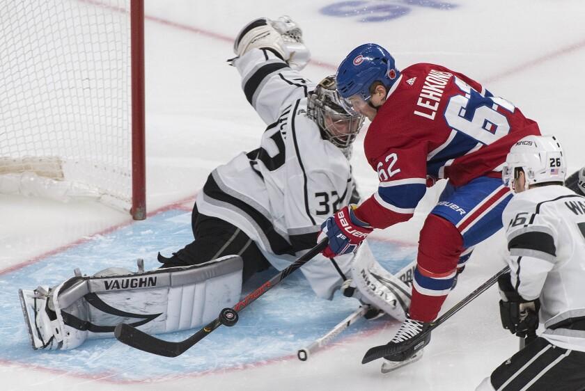 Kings Canadiens Hockey
