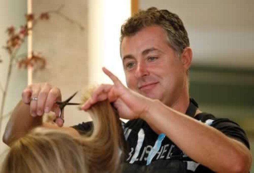 Alessandro Hair Salon has been building a regular clientele in La Jolla since opening more than 28 years ago.