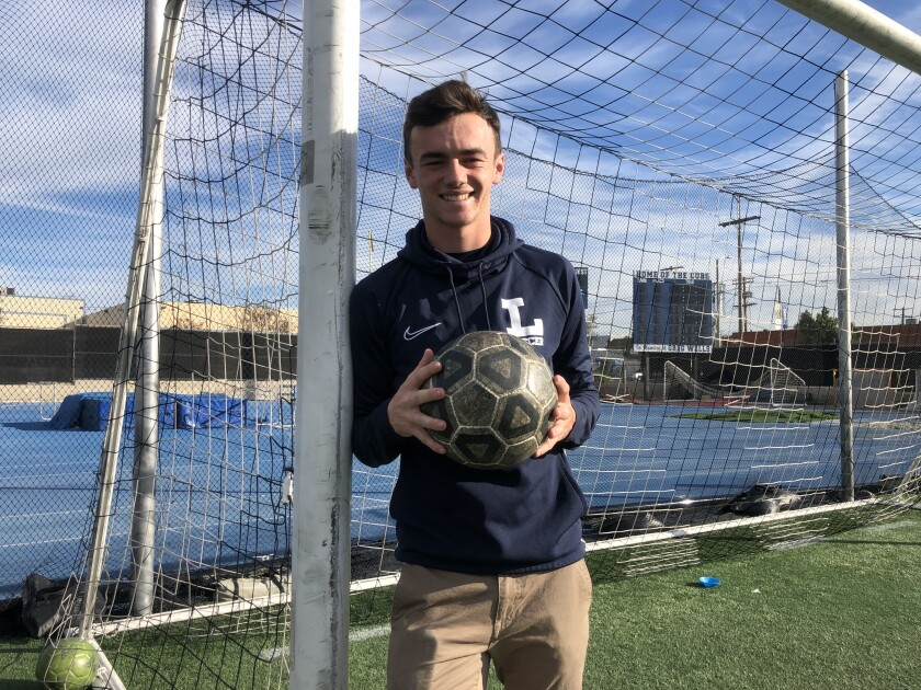 Grayson Doody is one of the top players for Loyola's soccer team.