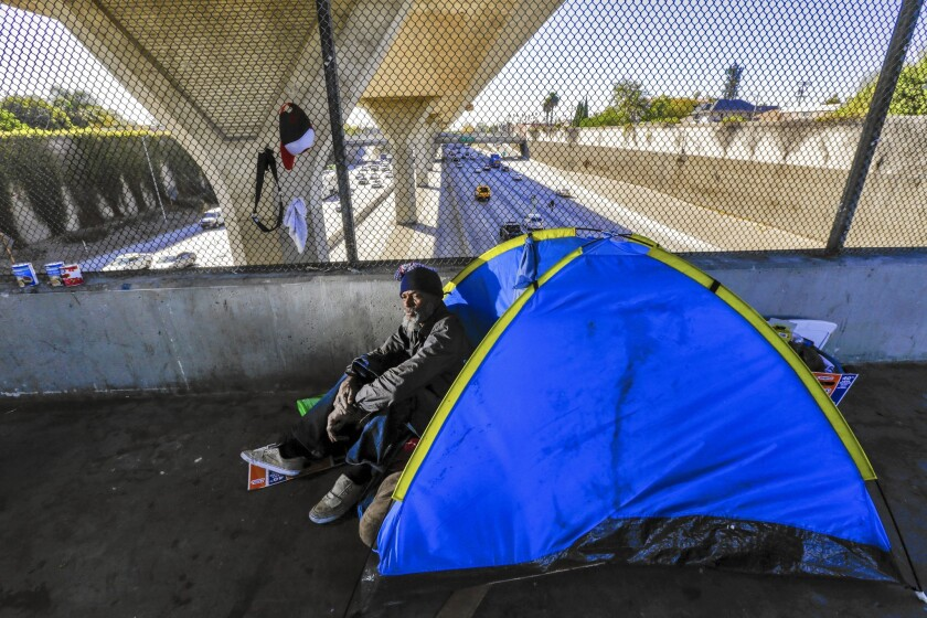 No emergency ruling on L.A. homeless