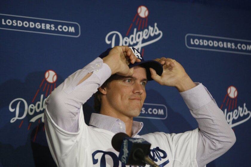 Dodgers pitcher Zack Greinke  buys in Studio City