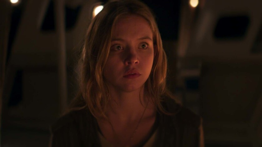 "Sydney Sweeney as Ashley in the supernatural horror film ""ALONG CAME THE DEVIL"" a Gravitas Ventures"