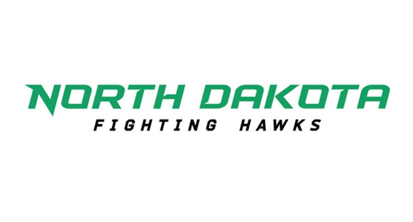 University of North Dakota unveils Fighting Hawks logo - The San ...