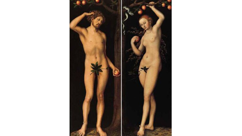 """""""Adam"""" and """"Eve,"""" 1530 paintings by Lucas Cranach the Elder that were looted by the Nazis during World War II, are at the center of a legal battle involving the Norton Simon Museum."""