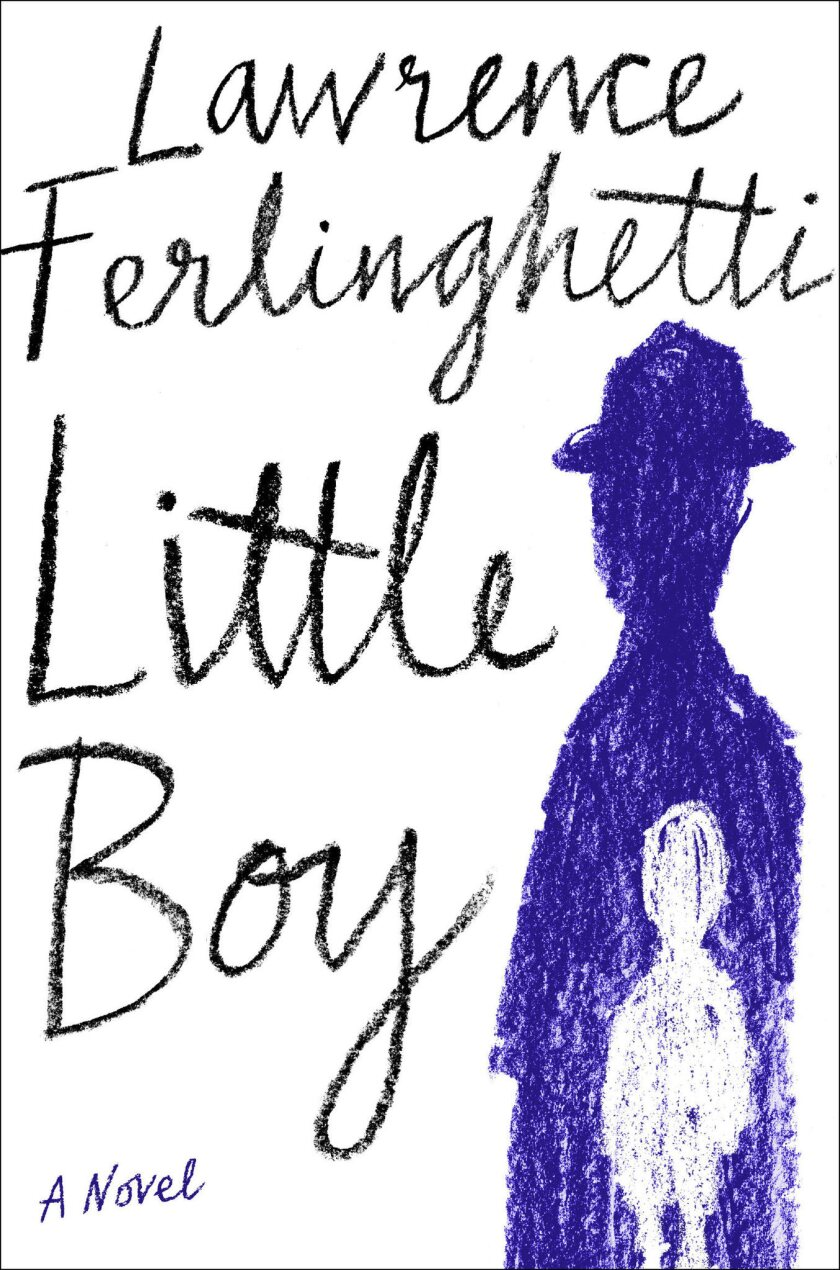 "A book jacket for Lawrence Ferlinghetti's ""A little Boy: A Novel."" Credit: Doubleda"