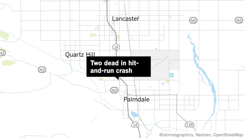 Two dead in hit-and-run crash