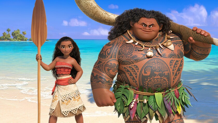 """Disney's """"Moana"""" has another stellar week at the box office."""