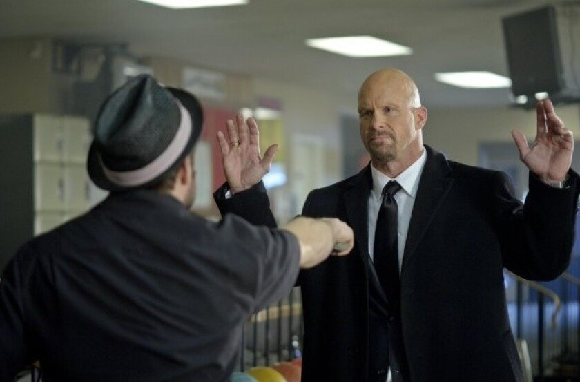 "Steve Austin in ""The Package."""