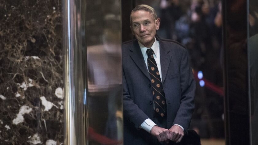 The proposed Presidential Committee on Climate Security is being spearheaded by William Happer, a National Security Council senior director.