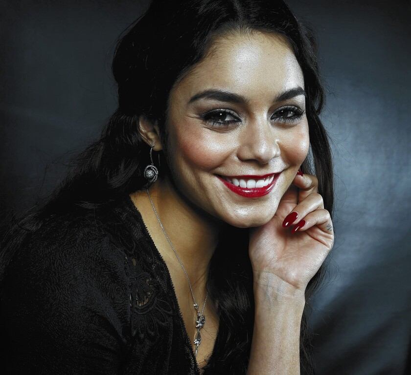 Vanessa Hudgens learns what it's like to have to ask 'Gimme Shelter'