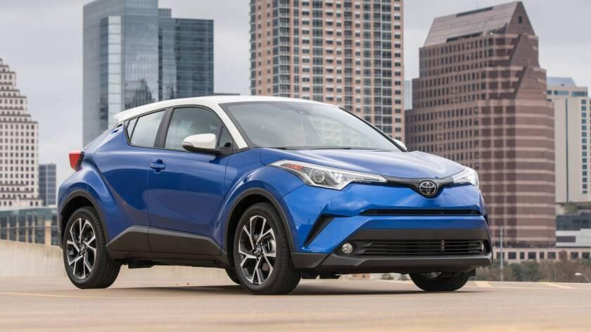 Toyota C-HR del 2018.