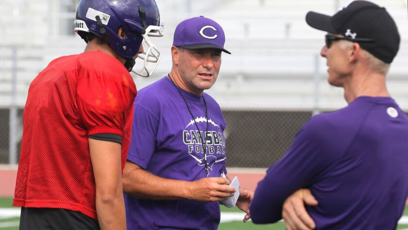 Coach Thadd MacNeal's Carlsbad football team still has a chance to join the Open Division for the playoffs.