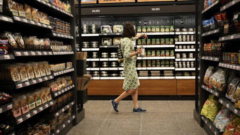 'Just walk out shopping': Amazon Go opens first Chicago location of its cashierless convenience store