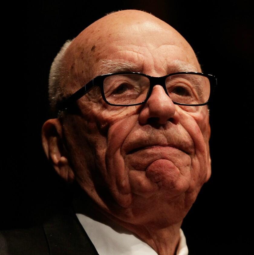 21st Century Fox CEO Rupert Murdoch
