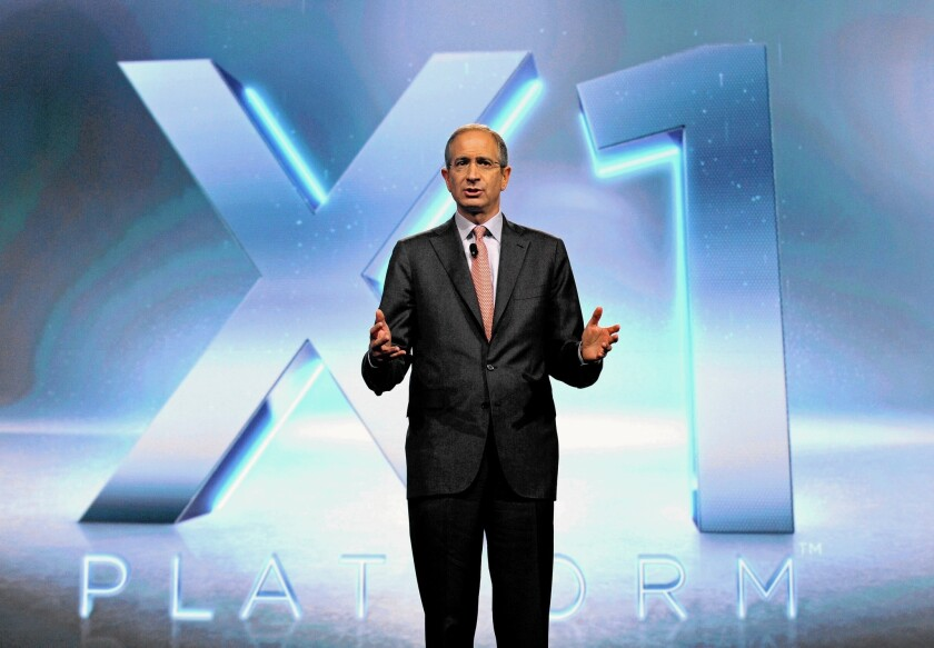 Comcast Corp. CEO Brian Roberts declined during a call with analysts Monday to dwell on his company's failure to land Time Warner Cable.