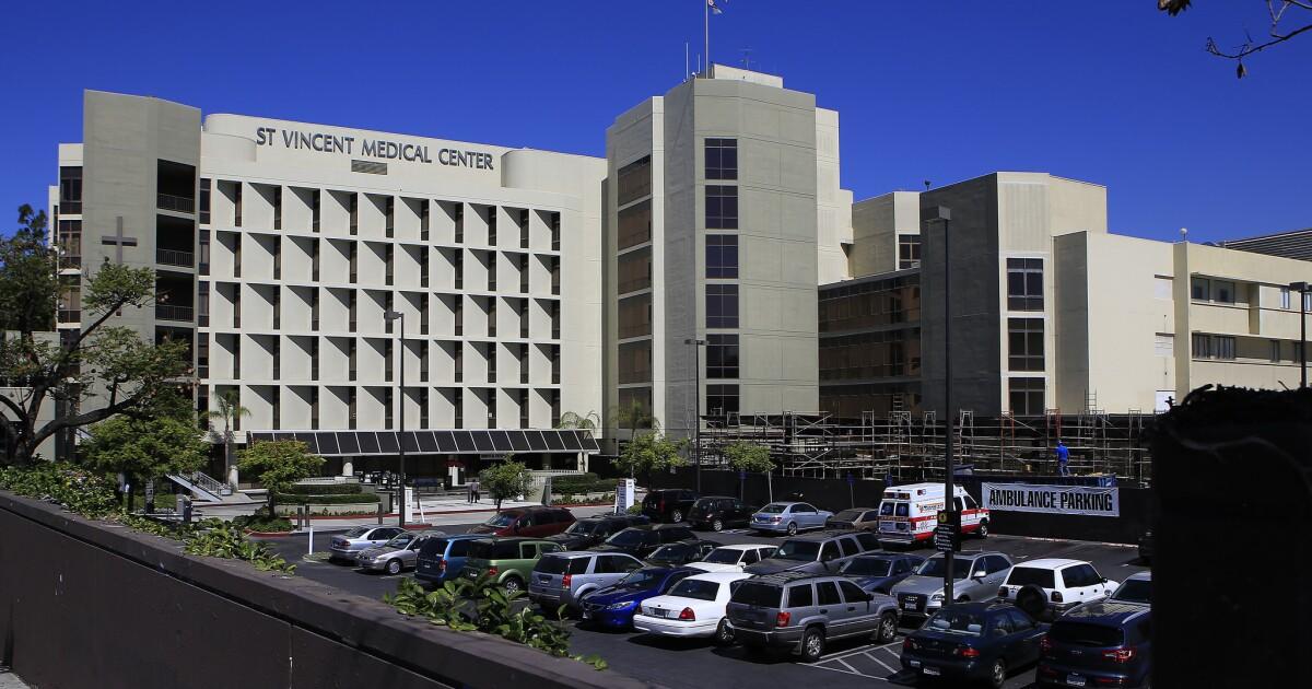 Zustand zu vermieten, St. Vincent Medical Center zu helfen, mit COVID-19-Pandemie