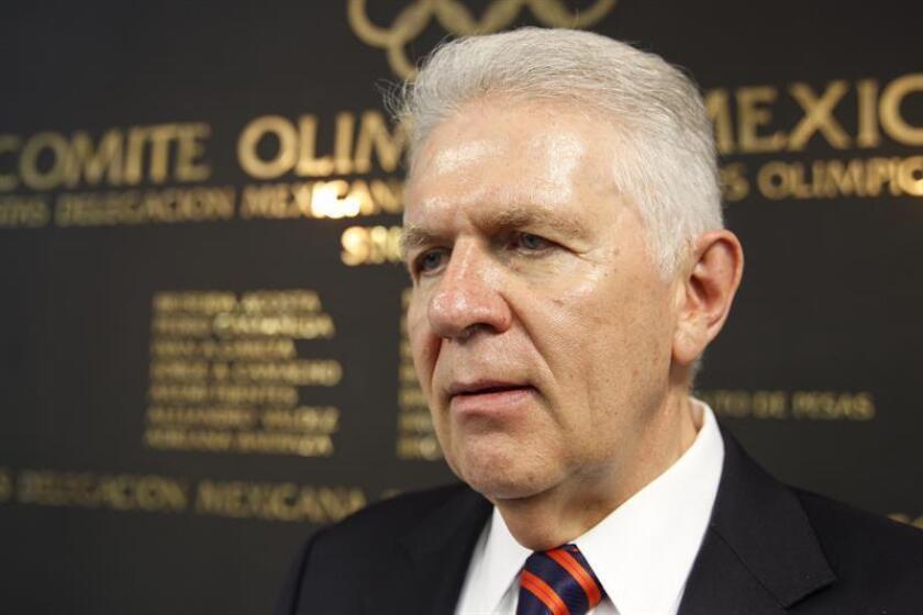 El presidente del Comité Olímpico Mexicano (COM), Carlos Padilla. EFE/Archivo