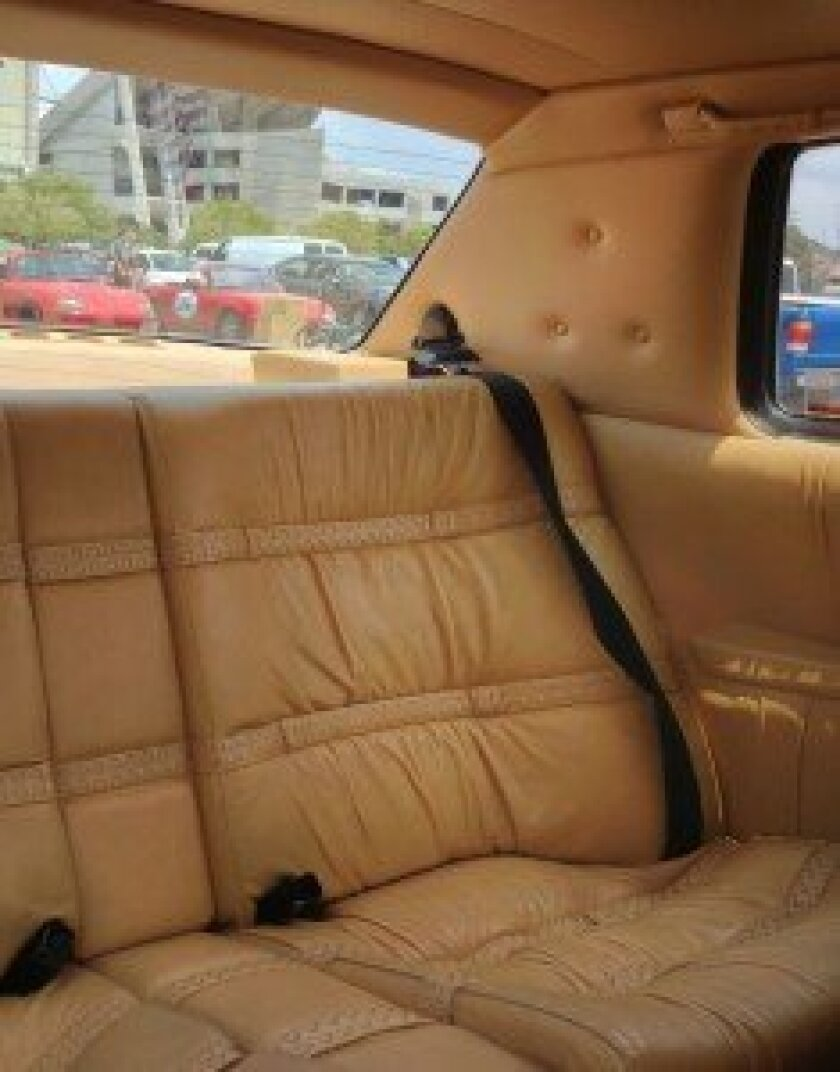 Soft Italian leather seating