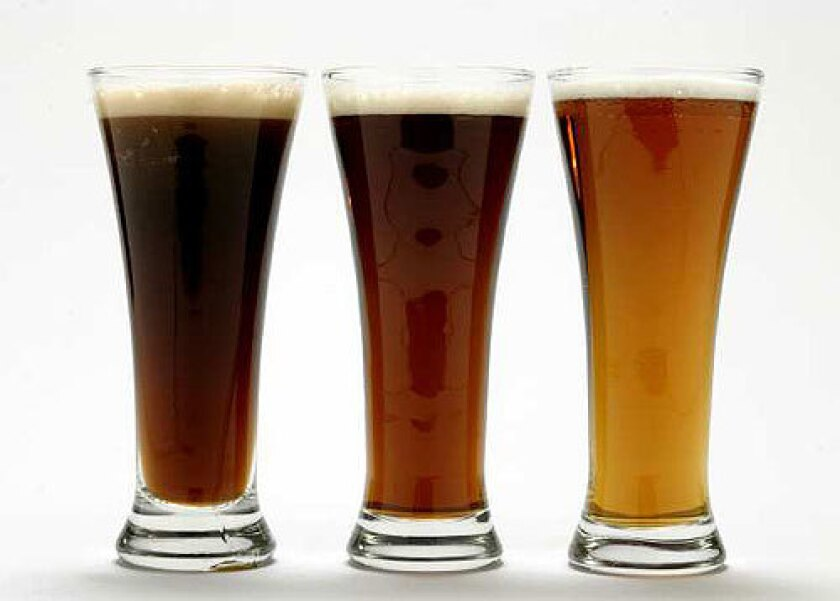 DEEP GLOW: Bocks are richer and maltier than other lagers and range from light amber through reddish to a brownish hue.
