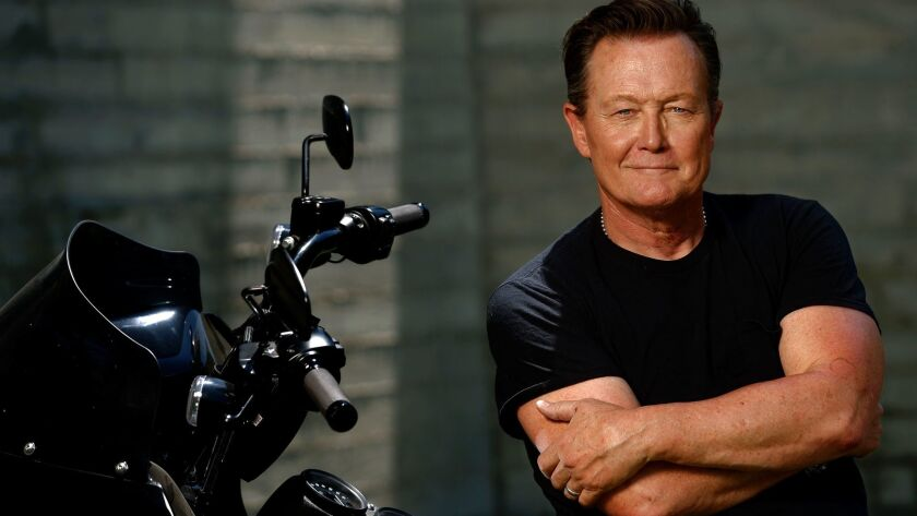 Like many of us, Robert Patrick says finding the time to work out is a chronic issue.
