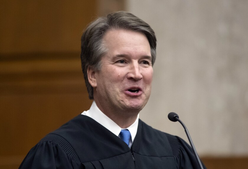 Justice Brett M. Kavanaugh suggested a compromise ruling in a case involving a Catholic foster-care agency.