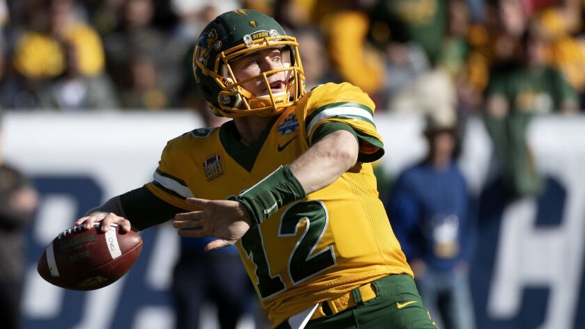 Chargers Hope Carson Wentz Replacement Can Eventually Fill Shoes