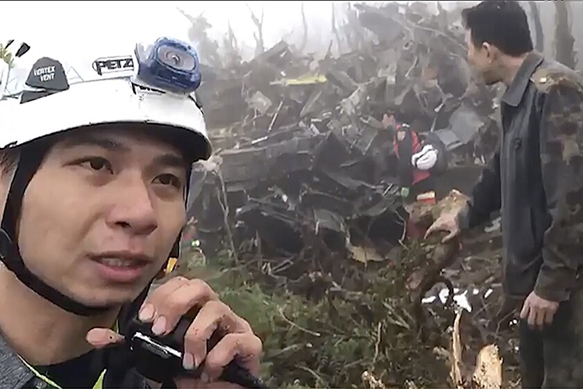Taiwan Helicopter Crash
