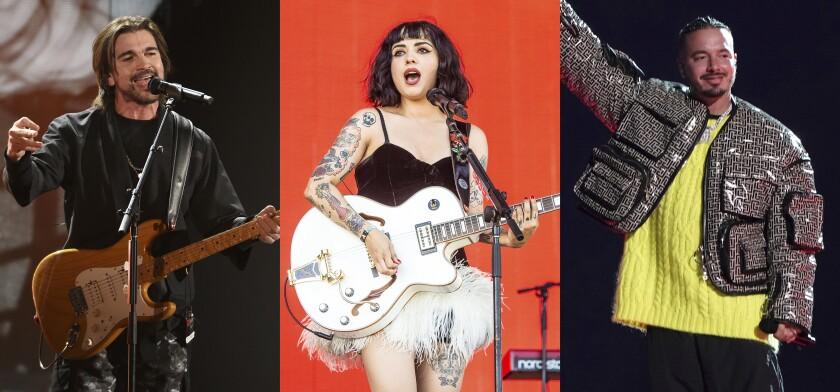 "Juanes en los Latin Grammy, Mon Laferte en Coachella J Balvin en ""Vax Live: The Concert to Reunite the World"""