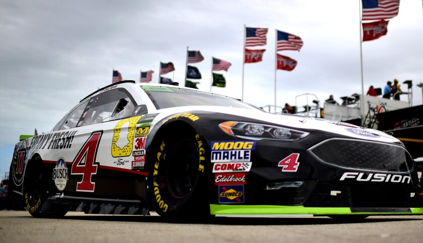 Monster Energy NASCAR Cup Series Ford EcoBoost 400 - Practice