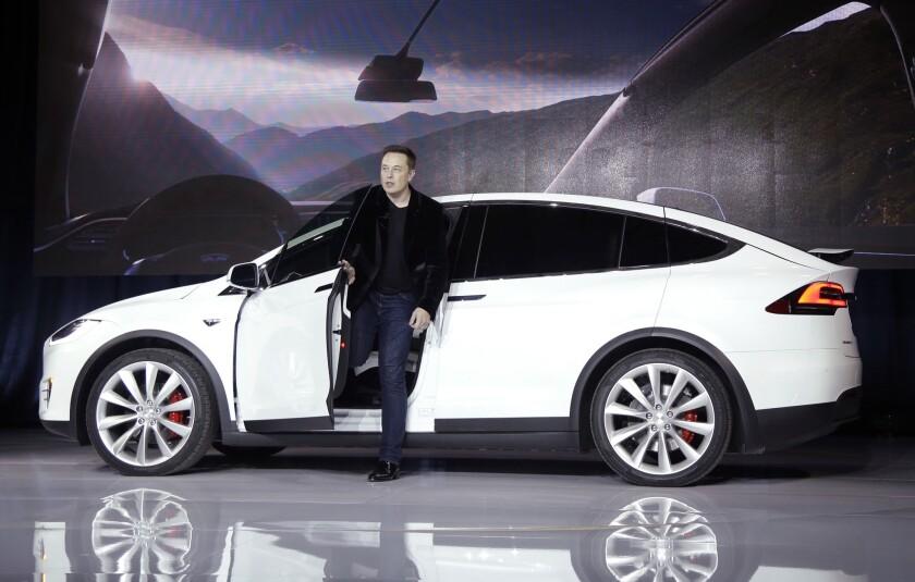 Elon Musk's driverless car ambitions