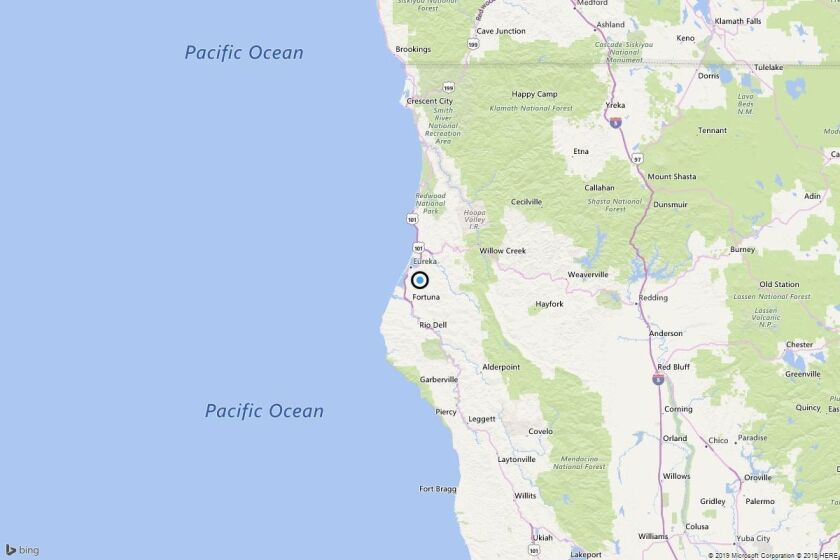 Earthquake: 3.2 quake strikes near Freshwater, Calif.