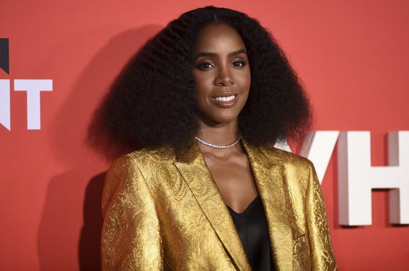 """ARCHIVO - En esta foto del 28 de enero de 2019, Kelly Rowland asiste al estreno de """"What Men Want"""""""