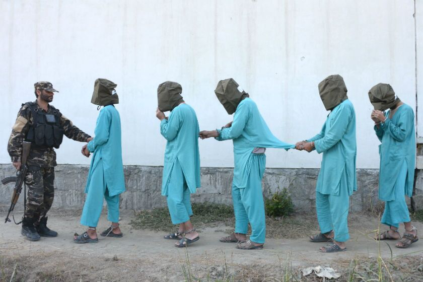 Afghan detainees