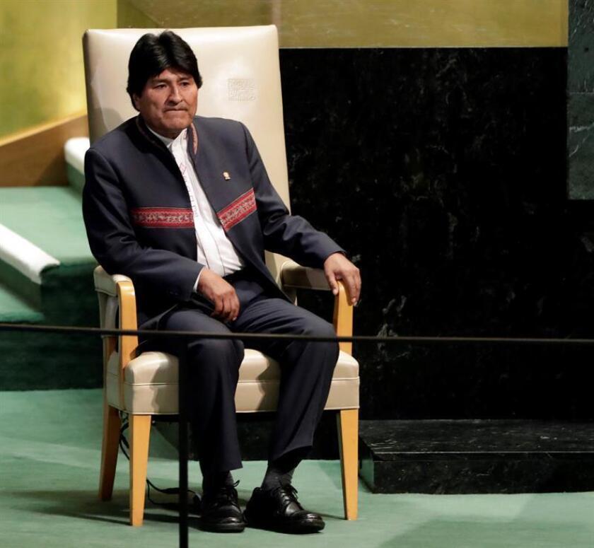 """El agente chileno ante la Corte Internacional de Justicia (CIJ) de La Haya, José Miguel Insulza, criticó hoy el discurso del presidente boliviano, Evo Morales, en la Asamblea General de la ONU y aseguró que la presión """"por vía diplomática no es muy bien vista""""."""