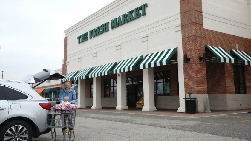 The Fresh Market store in Glen Ellyn, seen in 2016, is one of 15 locations slated to close nationwide. The stores are expected to close within two to four weeks.