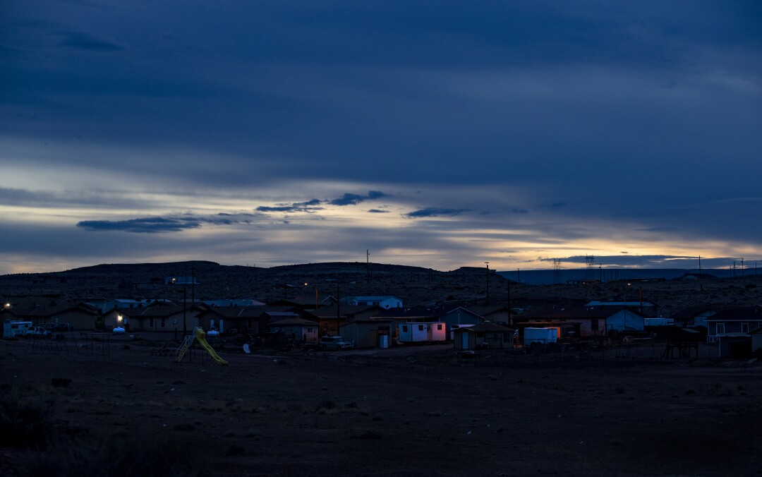 Navajo Nation amid the coronavirus epidemic.