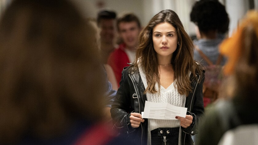 """Danielle Campbell in """"Tell Me a Story"""" on The CW."""