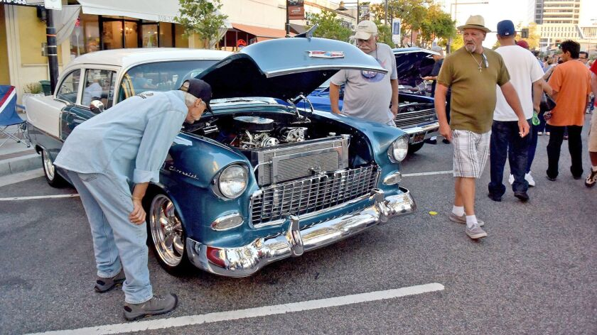 The 23rd annual Glendale Cruise Night along Brand Blvd. in Glendale, Calif., on Saturday, July 16, 2