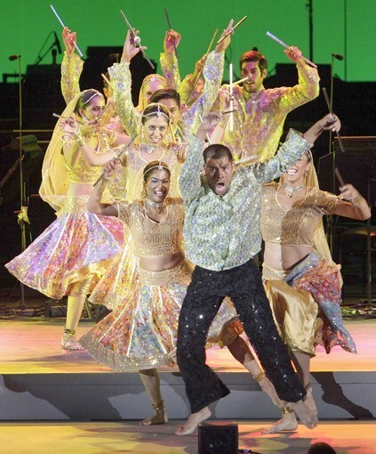 """Bollywood Step Dance performs during July 10's """"Journey to India"""" program at the Hollywood Bowl."""